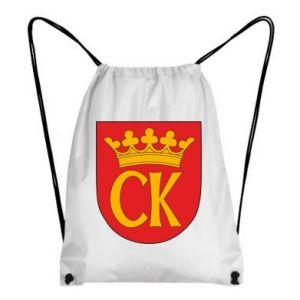 Backpack-bag Kielce coat of arms
