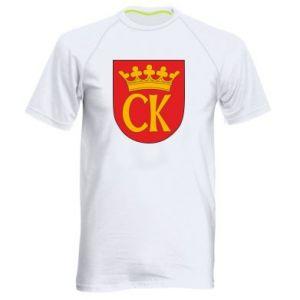 Men's sports t-shirt Kielce coat of arms
