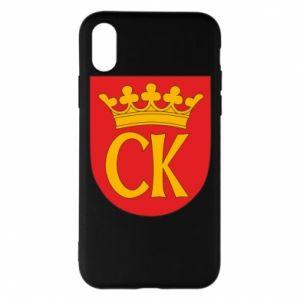 iPhone X/Xs Case Kielce coat of arms