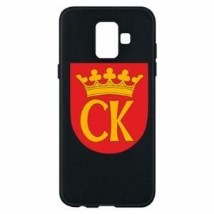 Samsung A6 2018 Case Kielce coat of arms