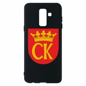 Samsung A6+ 2018 Case Kielce coat of arms