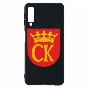 Samsung A7 2018 Case Kielce coat of arms