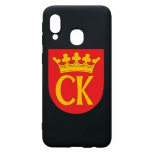 Samsung A40 Case Kielce coat of arms