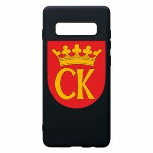 Samsung S10+ Case Kielce coat of arms
