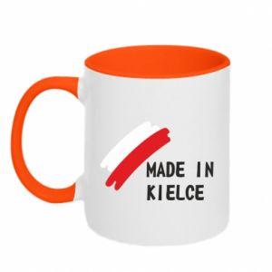 Kubek dwukolorowy Made in Kielce
