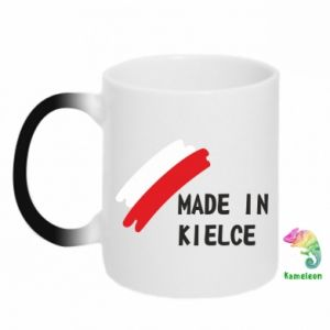 Kubek-kameleon Made in Kielce