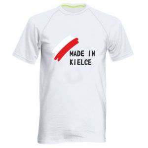 Men's sports t-shirt Made in Kielce