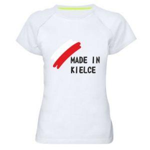 Women's sports t-shirt Made in Kielce