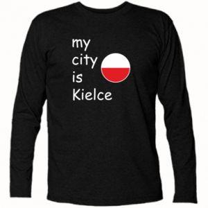 Koszulka z długim rękawem My city is Kielce
