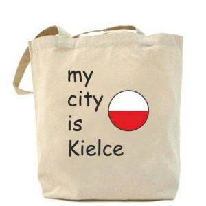 Bag My city is Kielce