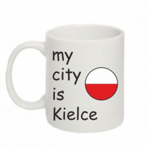 Mug 330ml My city is Kielce