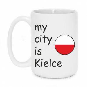 Kubek 450ml My city is Kielce