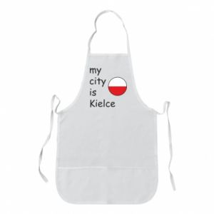 Apron My city is Kielce