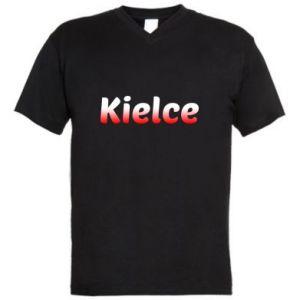Men's V-neck t-shirt Kielce