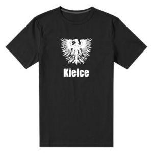 Męska premium koszulka Kielce - PrintSalon
