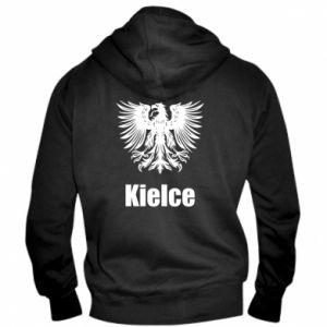 Męska bluza z kapturem na zamek Kielce - PrintSalon