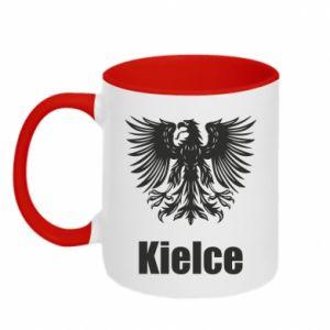 Kubek dwukolorowy Kielce - PrintSalon