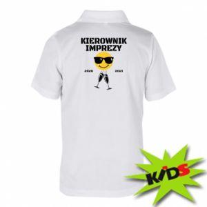 Koszulka polo dziecięca Kierownik imprezy