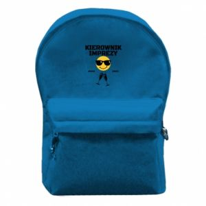 Backpack with front pocket Event manager