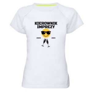 Koszulka sportowa damska Kierownik imprezy