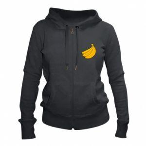 Damska bluza na zamek Kilka bananów