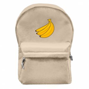 Backpack with front pocket Bunch of bananas