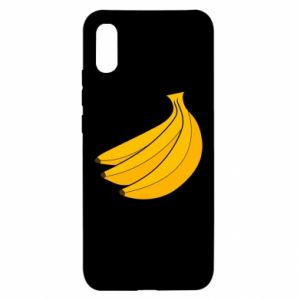 Xiaomi Redmi 9a Case Bunch of bananas