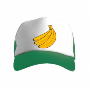 Kid's Trucker Hat Bunch of bananas