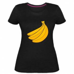 Women's premium t-shirt Bunch of bananas