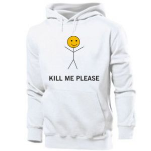 Męska bluza z kapturem Kill me please