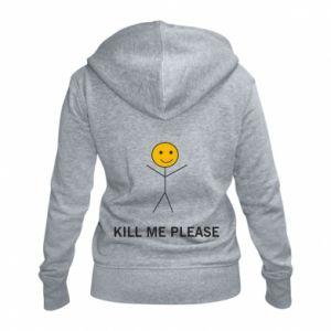 Damska bluza na zamek Kill me please