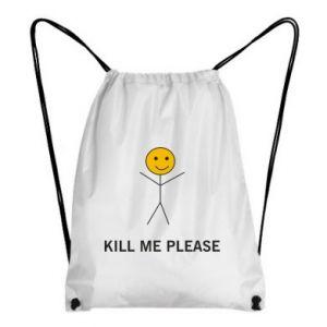Plecak-worek Kill me please