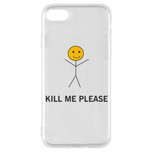 Etui na iPhone 8 Kill me please