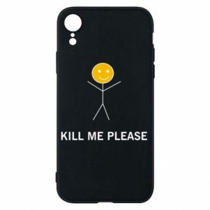 Etui na iPhone XR Kill me please