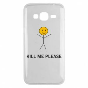Etui na Samsung J3 2016 Kill me please