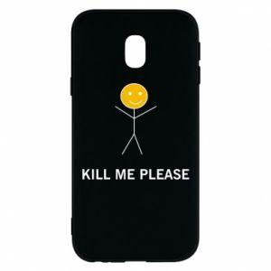 Etui na Samsung J3 2017 Kill me please