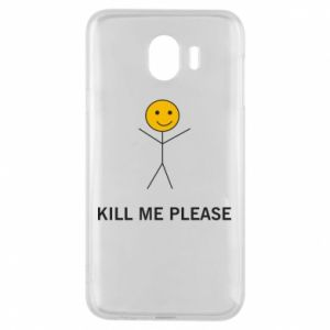 Etui na Samsung J4 Kill me please