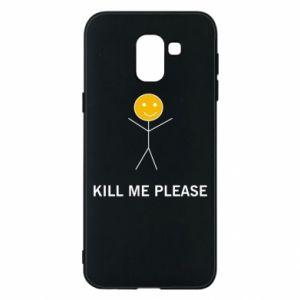 Etui na Samsung J6 Kill me please