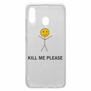 Etui na Samsung A20 Kill me please