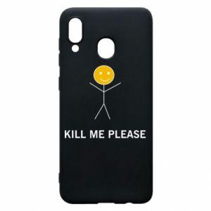 Etui na Samsung A30 Kill me please