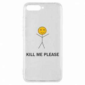 Etui na Huawei Y6 2018 Kill me please