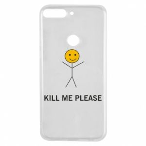 Etui na Huawei Y7 Prime 2018 Kill me please