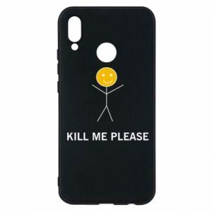 Etui na Huawei P20 Lite Kill me please