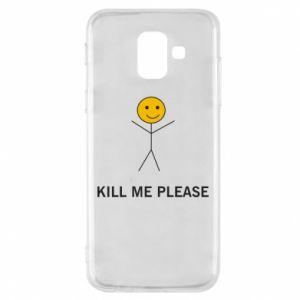 Etui na Samsung A6 2018 Kill me please