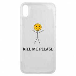 Etui na iPhone Xs Max Kill me please