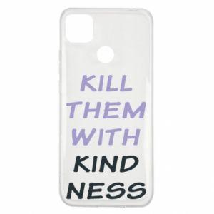 Etui na Xiaomi Redmi 9c Kill them with kindness
