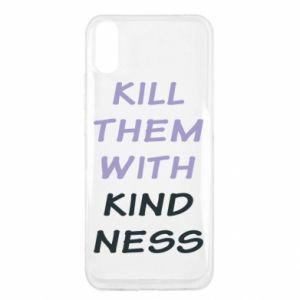 Etui na Xiaomi Redmi 9a Kill them with kindness