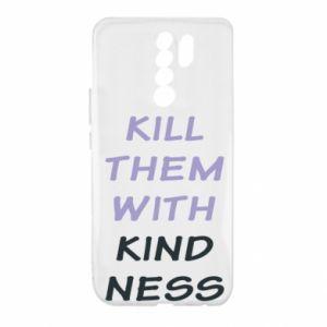 Etui na Xiaomi Redmi 9 Kill them with kindness