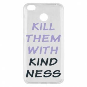 Etui na Xiaomi Redmi 4X Kill them with kindness