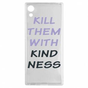 Etui na Sony Xperia XA1 Kill them with kindness